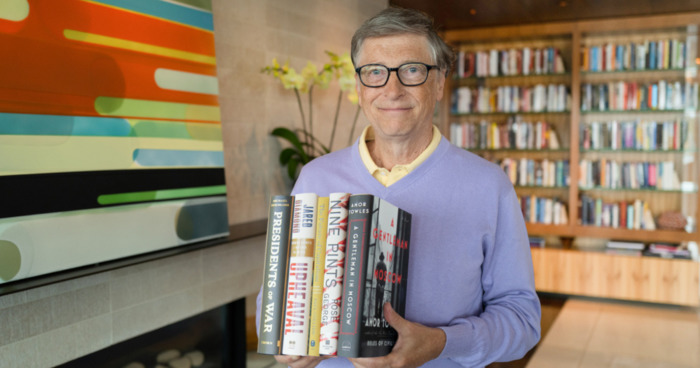 Bill Gates Shares His Summer Reading Recommendations