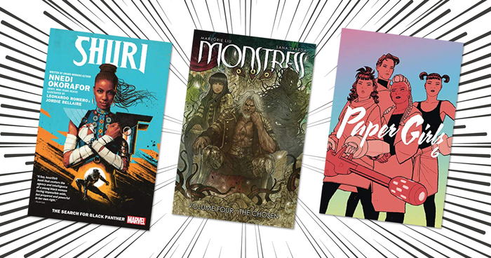 40 New and Upcoming Graphic Novels to Discover