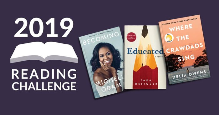 The Most Read Books of the 2019 Reading Challenge