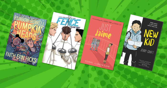 24 New and Upcoming Graphic Novels for Young Readers
