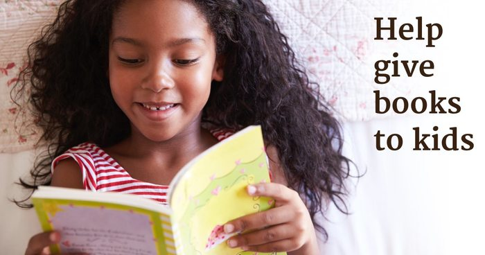 Let's Help These Charities Give Books to Kids