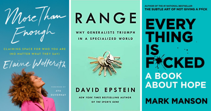 The Top New Inspirational and Aspirational Books