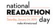 National Readathon Day