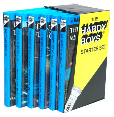 Hardy Boys Boxed Set 1-6 by Franklin W. Dixon