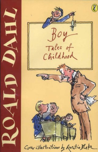 Boy Roald Dahl Book