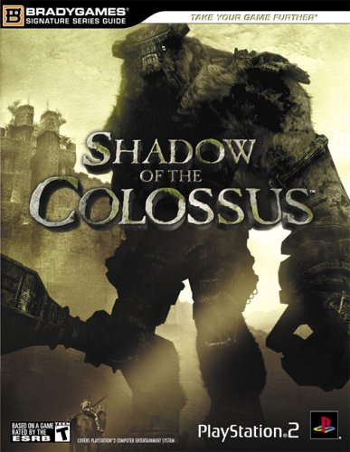 Shadow Of The Colossus Official Strategy Guide By Brady Games