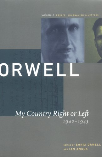 my country right or left by george orwell 9643