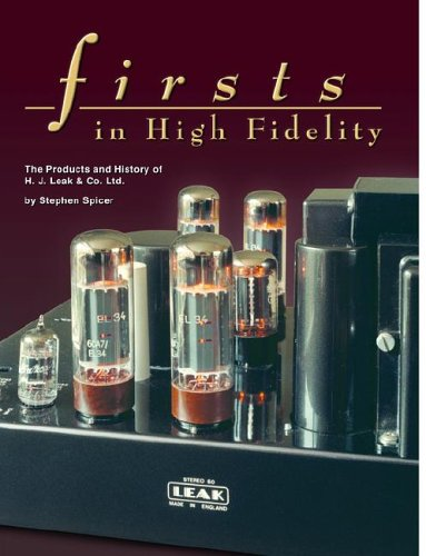 Firsts in High Fidelity