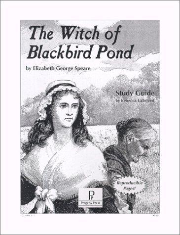 Witch of blackbird pond study guide, progeny press, 010406.
