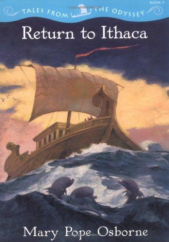Hasil gambar untuk Novel Odisei (Kembali ke Ithaca) – Mary Pope Osborne