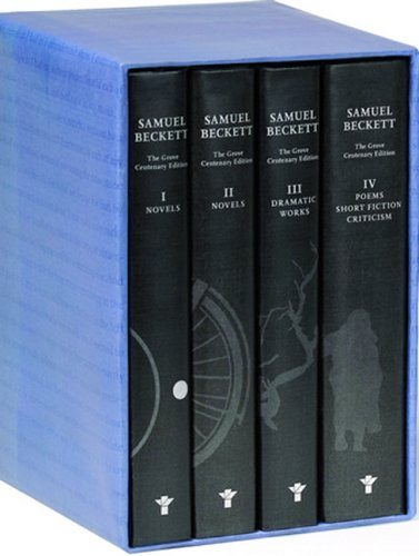 The Grove Centenary Editions of Samuel Beckett Boxed Set: Contains Novels I and II of Samuel Beckett, The Dramatic Works of Samuel Beckett, and The Poems, Short Fiction and Critcism of Samuel Beckett