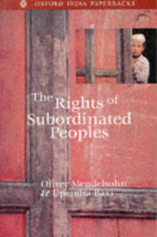 The Rights of Subordinated Peoples