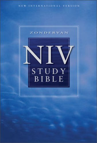 Study Bible Niv By Anonymous