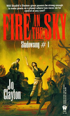 Fire in the Sky (Diadem: Shadowsong, #1)