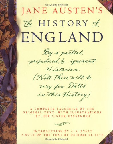 The History of England by Jane Austen