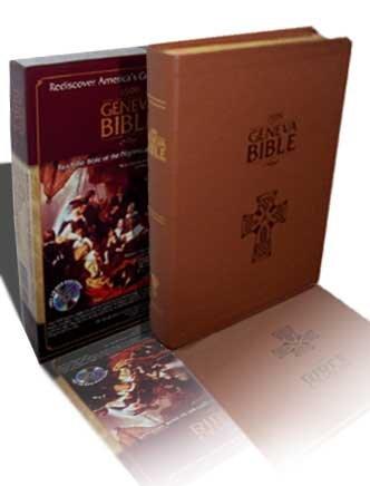 1599 Geneva Bible (Calfskin Bound Leather) Limited Edition