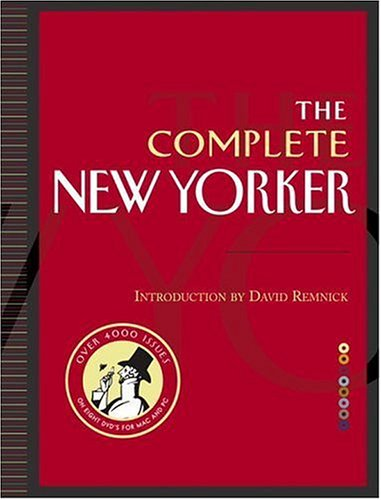 The Complete New Yorker: Eighty Years of the Nation's Greatest Magazine (Book & 8 DVD-ROMs)
