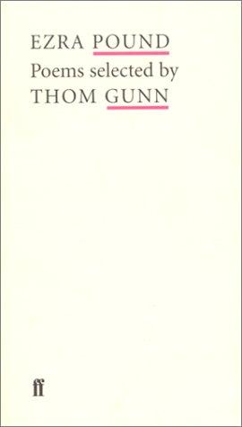 Ezra Pound: Poems