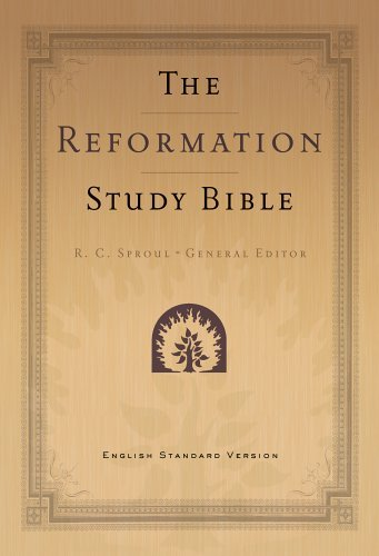 Holy Bible: Reformation Study Bible, ESV