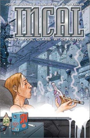"The Incal, Book 2: John Difool, Class ""R"" Detective"
