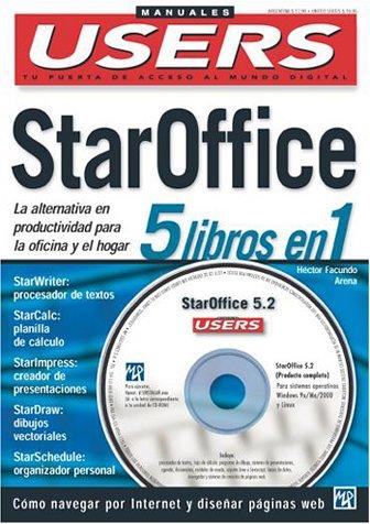 StarOffice - 5 Libros en 1: Manuales Users, en Espanol / Spanish