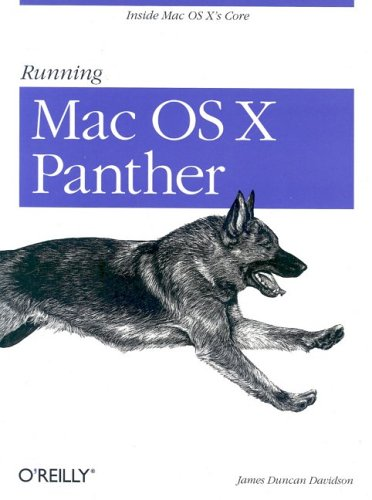 Running Mac OS X Panther by James Duncan Davidson