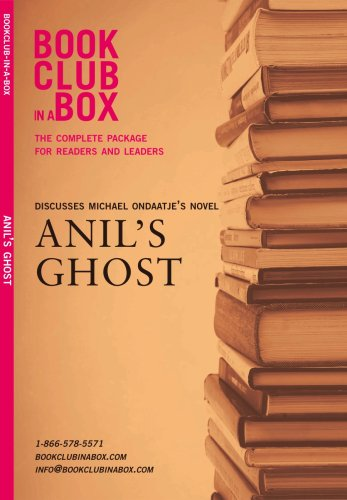 Book Club in a Box Discusses Michael Ondaatje's Anil's Ghost