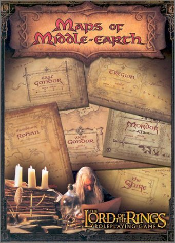 Maps of Middle Earth The Lord of the Rings Map Set by Daniel Reeve