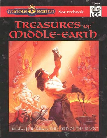 Treasures of middle earth by Wolfgang Baur