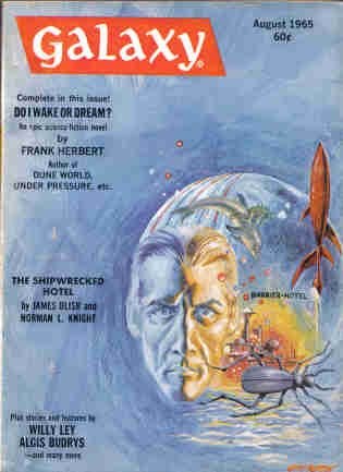 Galaxy Science Fiction, August 1965 (Volume 23, No. 6)