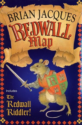 Redwall Map & Riddler by Brian Jacques
