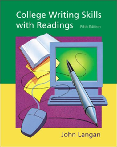 College writing skills with readings by john langan fandeluxe Choice Image