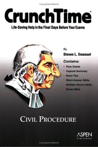 CrunchTime: Civil Procedure