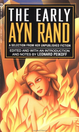 Ayn Rand Book Cover Art : The early ayn rand a selection from her unpublished