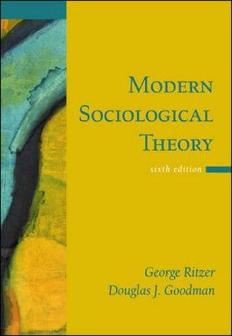 teoria sociologia moderna george ritzer pdf download