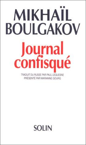 Journal confisqué (1922-1925)