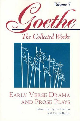 Early Verse Drama and Prose Plays