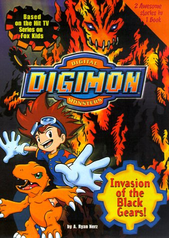 Invasion of the Black Gears! (Digimon Adventure Novelizations, #2)