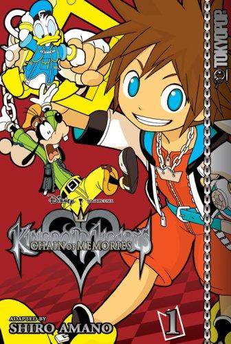Kingdom Hearts Chain of Memories, Vol. 1 by Shiro Amano