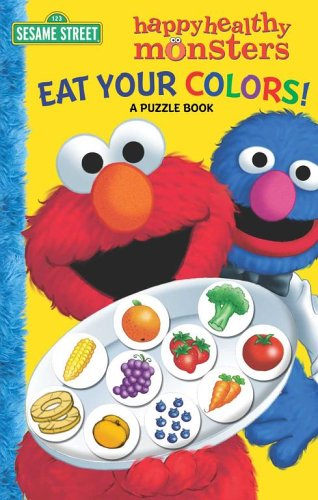 Eat Your Colors! a Puzzle Book