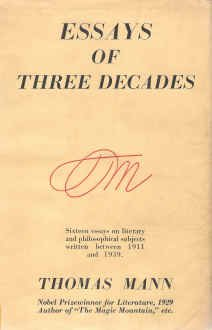 Essays of Three Decades