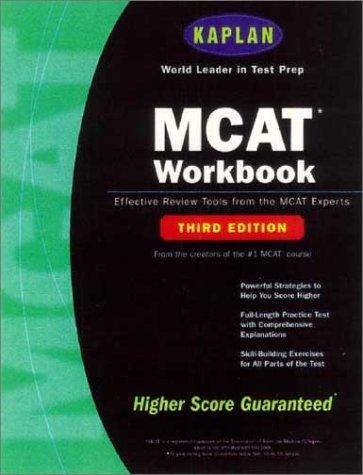 Kaplan MCAT Workbook, Third Edition