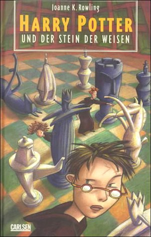 Harry Potter und der Stein der Weisen (Harry Potter, #1) by J.K. Rowling