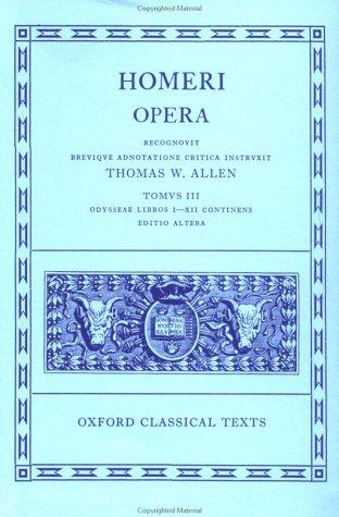 Odyssey, Books 1-12 by Homer