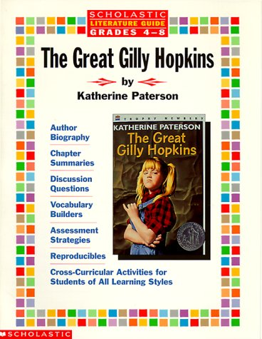 The great gilly hopkins literature guide by scholastic inc 163468 fandeluxe Choice Image