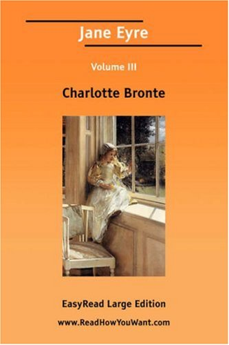 Jane Eyre Volume III