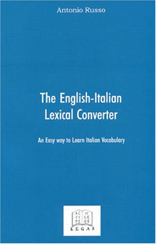 The English-Italian Lexical Converter: An Easy Way to Learn Italian Vocabulary