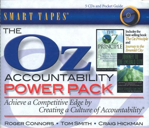 Oz Power Pack The Oz Principle Journey To The Emerald City By Roger