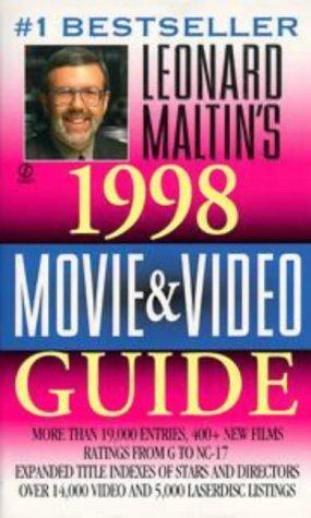 Leonard Maltin's Movie and Video Guide 1998 by Leonard Maltin