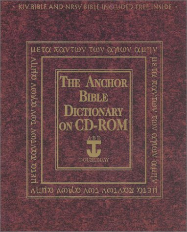 The Anchor Bible Dictionary 6 Volume Set By David Noel Freedman